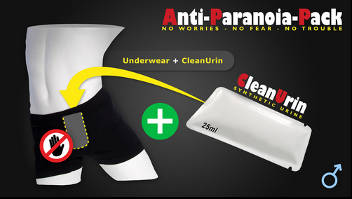 Anti Paranoia Pack, Clean Urin