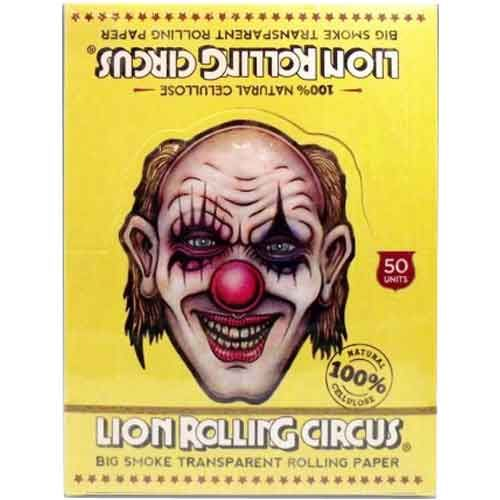 Lion Rolling Circus -Transparent Papers