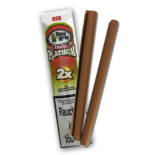 Blunt Wrap Double Platinum Red, 2er