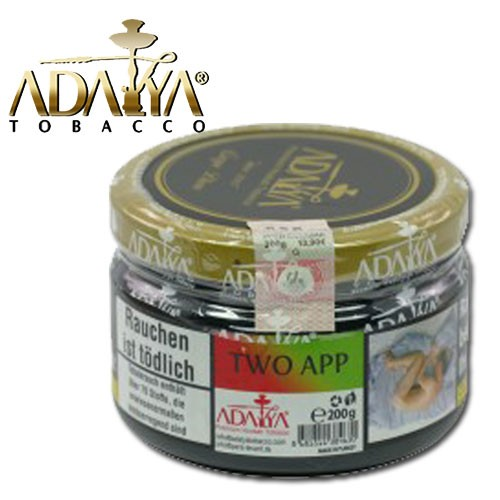 Adalya Shisha Tabak Two Apple, 200g