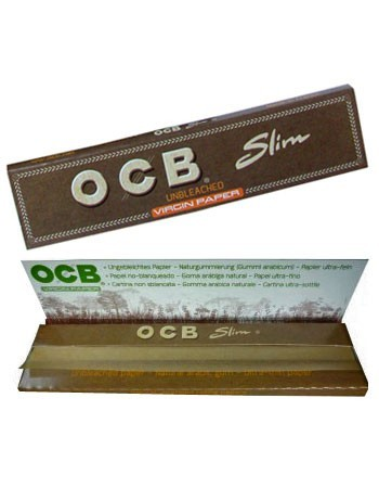 OCB KS Slim Virgin, unbleached