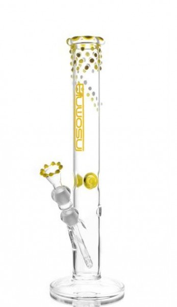 Insomnia Glasbong INS 581 Yellow White