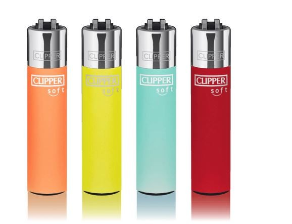 CLIPPER® Feuerzeug Soft Touch