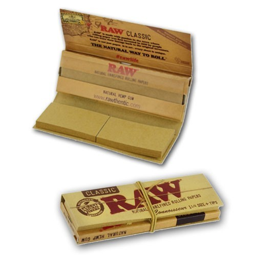 RAW Classic Connoisseur Papier + Tips